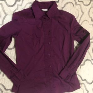 Express long-sleeved button up.